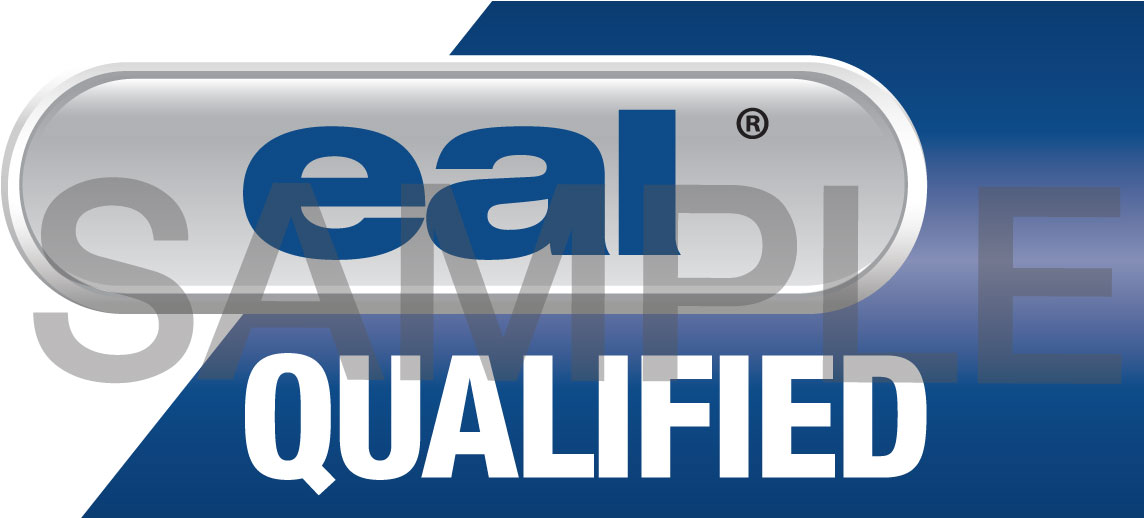 EAL Qualified Logo sample