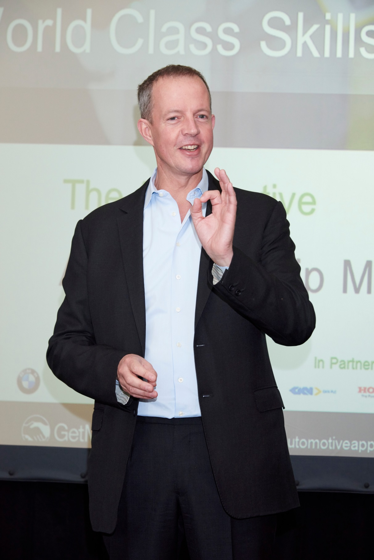 Nick Boles at Automotive Matching Launch Event