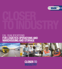 Logistics operations and warehousing and storage brochure